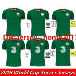 Wholesale National Green - 2017 2018 Ireland soccer jerseys Republic of Ireland national team jerseys 2018 World Cup Ireland KEANE Daryl home away football shirts