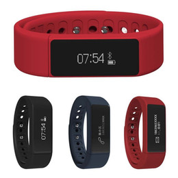 Wholesale Touch I5 - I5 Plus Bluetooth Smart Bracelet Wireless Sports Wristband Waterproof Touch-screen Activity Tracker For Android IOS with Retail Package