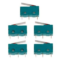 2019 reisebegrenzte schalter 5 Stücke Reise Schalter Endschalter 3 Pin N / O N / C 5A 250 V Micro KW4-3Z-3 günstig reisebegrenzte schalter