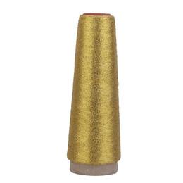 2019 lace stoff geschenk taschen Metallische Maschine Stickgarn 5000 Yards Spool Super Sheen MS Typ (Gold)