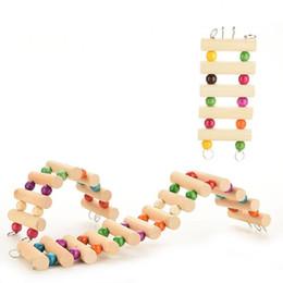 3 размер Хомяк игрушки лестница птица попугай красочные восхождение лестница игрушка попугай качели игрушки попугай поставки Оптовая от