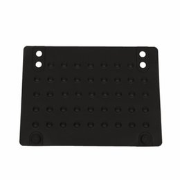 Wholesale wholesale for hair straightener - Silicone Heat Resistant Mat Anti-heat Mats for Hair Straightener Curling Iron (black) 215*165cm