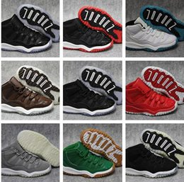 Wholesale Box Culture - Kids With box 2018 11 Gym Red Space Jam Chicago Win like 82 11s Men Basketball Shoes Women Athletic Sports Sneakers 28-35