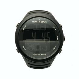 5b3d34680f9 relógios de mergulho Desconto NORTHEDGE Homens Esportes Caminhadas Ao Ar  Livre Relógio Digital Pesca Altímetro Tempo