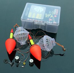 Anzuelos de plata online-Gancho de pesca explosivo al aire libre Ganchos de acero de aleación Equipo de pesca Carpa de plata Explosion Hook Torpedo Naval Atomización GGA639 50PCS