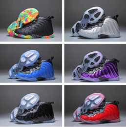 Wholesale rhinestone basketball - KIDS 13s Basketball Shoes One Penny Hardaway Children Tennis FOAM Eggplant Basketball Sport Shoes Outdoor Athletic Sneaker shoe Eur 41-47