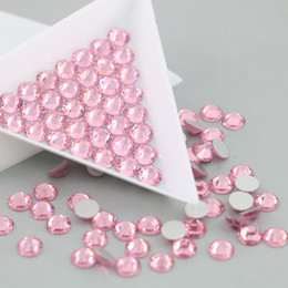 Wholesale Decorations For Nails - All Size Flatback Stone For Nail Art Non Hotfix Rhinestone Crystal and Stones decorations accessories (Lt.Rose)