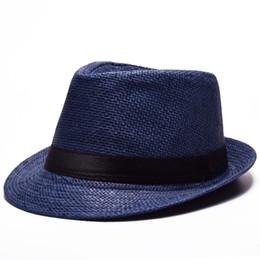 Wholesale Womens Foldable Sun Hats - grass Fashion sun hats Foldable womens sunhats women's hat Summer Beach Floppy Cap Headwear Unisex Panama Summer Beach Sun Hat
