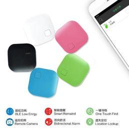 Neue andriod handys online-New Square Drahtlose Bluetooth Anti-verlorene Alarm GPS-Tracker Itag Key Finder Sprachaufnahme Anti Lost Selfie Shutter für Ios Andriod Phones