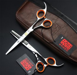 Forbici d'assottigliamento di taglio di capelli del parrucchiere da barbiere professionale a 6,5 pollici in acciaio inossidabile da 5,5 pollici da