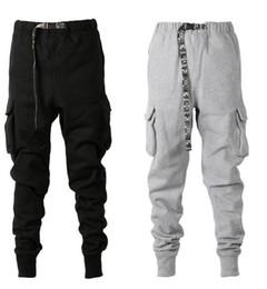 2019 пояс для брюк 2019SS новый камуфляж пояс толстые штаны трек хип-хоп конические подходят мульти карман тренировочные брюки мужчины зимние брюки бегуны брюки S-XXL скидка пояс для брюк
