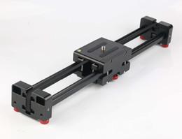 schienenschieber für dslr Rabatt DSLR Kamera Kompakte Versenkbare Track Dolly Slider 50 cm Schiene Schießen Video Stabilisator 100 cm Tatsächlichen Schiebedistanz