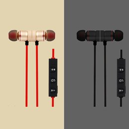 Wholesale Noise Reduction Phone Headset - Wireless Bluetooth Magnetic Sports Handsfree In Ear Noise Reduction Earphone Compatible for All Phones with Bluetooth Function