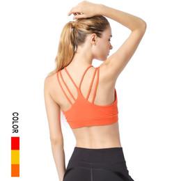 24d7c9a516f09f Sexy Yoga Bra Women Padded Sports Bra Shake Proof Running Workout Gym Top  Tank Fitness Shirt Vest sexy workout shirts on sale