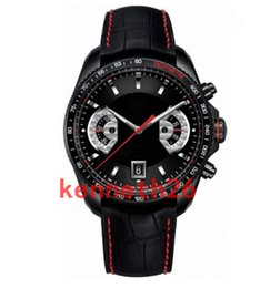 Wholesale top swiss sport watches - AAA Swiss top brand sports watch mens tag luxury mechanical watch leather strap fashion military Wristwatches Monaco series concept watch
