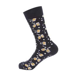 Men's Socks 2019 New Hot Sale Cotton Stripe Harajuku Hip Hop Casual Sox Long Skateboard Socks Mens Street Boat Sock For Male 3wz017