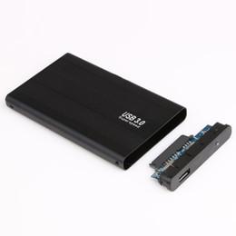 Boîtier du disque sata en Ligne-2.5 pouces Boîtier de disque dur SATA vers USB 3.0 Disque dur SATA Stockage externe Boîtier de boîtier de disque dur avec câble USB Boîtier de disque dur