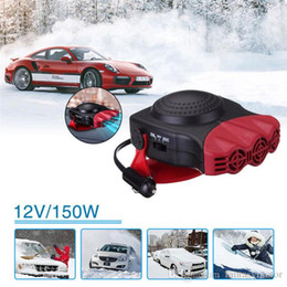 Deutschland Portable 2 In 1 Auto Car Heater Heating Defroster 12V 150W with Swing-out Handle Hot Fan Windscreen Window Demister (Retail) Versorgung