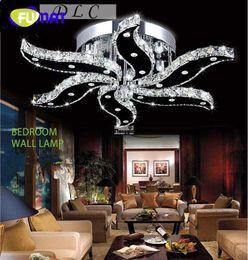 FUMAT Yeni modern parlaklık kristal ışıkları oturma odası yatak odası için tasarım ev aydınlatma dekorasyon led tavan ışıkları nereden