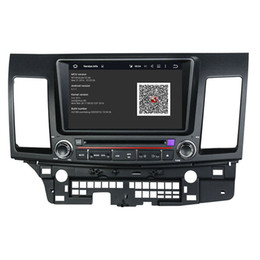 vw jetta dvd Скидка Автомобильный DVD-плеер для MITSUBISHI Lancer 2006-2012 8-дюймовый Окта-ядро 2 ГБ оперативной памяти Andriod 6.0 с GPS, Bluetooth, радио