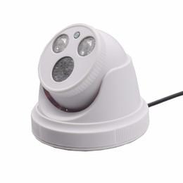 AHD 720P CCD 3.6 mm Seguridad para el hogar Vigilancia H.264 Cámaras CCTV con sistema cerrado por infrarrojos de 100 grados de ángulo con conexión de cámara de cúpula por cable desde fabricantes