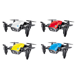 S9HW Mini Drone con cámara HD S9 Sin cámara Plegable RC Quadcopter Altitud Hold Helicóptero WiFi FPV Micro Pocket Dron aviones desde fabricantes