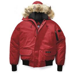 Argentina Hombres Mujeres Bomber Femme Aire libre chaqueta de piel abajo Invierno cálido a prueba de viento Goose Down Coat Espesar Diseñador chaqueta con capucha Marca abrigo cheap xs men jacket Suministro