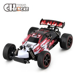 Wholesale hobby rc - 2.4G 4CH Remote Control Car Model Off-Road Vehicle Toy Hobbies RC Car Remote Control Toys For Kids Children Gift