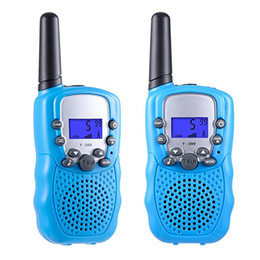 walkie-talkie  Sconti Mini Walkie Talkie Toy Kids Radio Reviser RT388 Radio portatile Set 0,5W Comunicatore radio bidirezionale