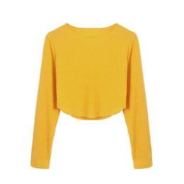 Женская футболка онлайн-Crop Tops High Street Women Fashion Tshirt Women O Neck Tee Shirt Sexy Striped Short T Shirt Streetwear Haut Femme