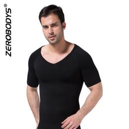 8af18ee24c1 Bodysuit Men New Shapewear V-Neck Top Sport Wear Slimming Waist Body Shaper  Under Corset Summer Sleeveless Shirt bodysuit men wear for sale