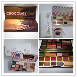 Wholesale Now Natural - New Makeup Chocolate Gold &Chocolate Bar Palette 16 colors matte Eye shadow COCOA eyeshadow Powder Palette Shimmer Cosmetics presell now