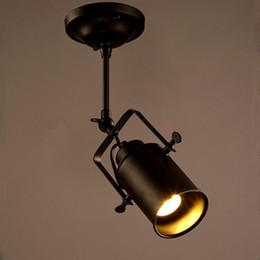 Holofotes LEVOU Americano Do Vintage Loft Luz Pingente de Ferro levou lâmpada E27 holofotes Mercantile Iluminação para Bar / Café de Fornecedores de tipos de conectores 12v