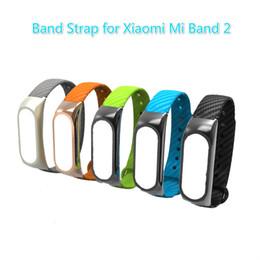 Banda di texture online-Cinturino da polso per Xiaomi Mi Band 2 Cinturino in silicone rinforzato con cinturino in silicone per cinturino per sostituzione Mi Band 2