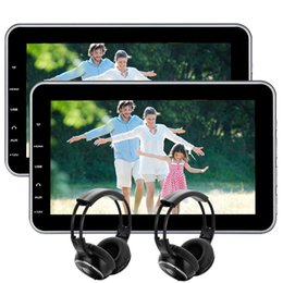 "Wholesale Wireless Headphones Remote - EinCar 10.1""Tablet-Style Ultra-thin Headrest car DVD Player Rear-Seat Entertainment System USB SD HDMI,Remote Control Wireless IR Headphones"