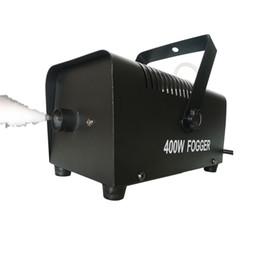 2019 effet d'équipement de scène 400w mini effet de lumière de scène de machine de brouillard de fumée générateur de fumée générateur de brouillard de scène de gogger allumant l'équipement de DJ effet d'équipement de scène pas cher