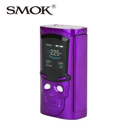 Wholesale E Cig Led - Retail product 230W SMOK S-Priv 230W TC Box MOD Built-in LED light with 12 sparkling color E-cig Mod