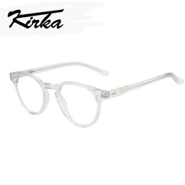 06f61a0891 Kirka Transparent Glasses Women Frames Eyeglass Round Glasses Transparent  Myopia Circle Spectacle Frames For Women