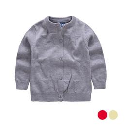 Wholesale Girl Sweater Star - Star Print Girls Sweater Soft Cotton Thin Cardigan Coat Long Sleeve O-Neck Children Sweater Spring Autumn 0-3M Girls Cardigan