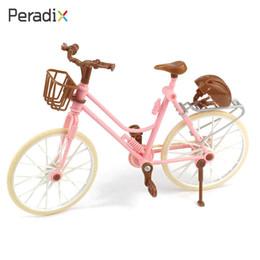 Argentina Mini Simulación Bicicleta Bike Doll Accesorio Niños Juguetes Decoración Plástico cheap toy plastic bicycle Suministro