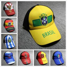 2018 rússia world cup caps esportes fifa ajustável bonés de beisebol  adolescente chapéus de futebol chapéus de futebol dos homens chapéus  designer de chapéu ... b5b097a4474