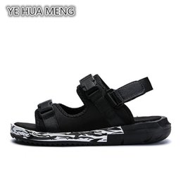 Wholesale Open Shoes Trend - New summer student personality soft bottom slippers trend casual beach shoes.