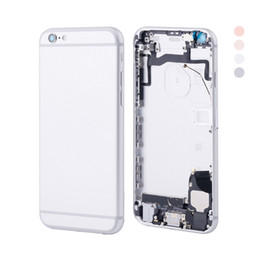 Wholesale complete housing - Best Quality Brand New For iPhone 6S 6GS Full Battery Door Complete Back Cover Housing Module 4 Colors
