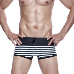 2019 shorts de roupa de banho Roupas de banho Maiô Piscina Swimsuit Sexy Swimwear Cuecas Swim Briefs Trajes Homens Banheiro S-XL shorts de roupa de banho barato
