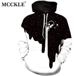 Wholesale Thin Sweatshirts For Women - MCCKLE 2017 Newest 3D Print Christmas Halloween Skull Theme Pullover Hoodies for Women Causal Loose Plus Size Sweatshirts Femme