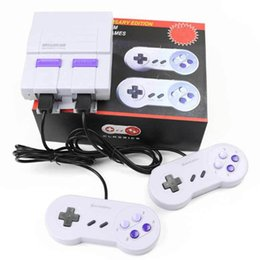 jeux vidéo à succès Promotion 2018 Super SFC Mini console de jeux modèle pour NES 660