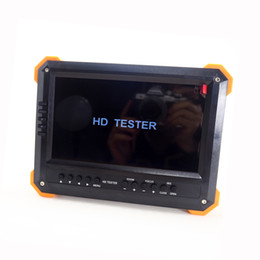 Wholesale 12v security cameras - X41TAC 5MP AHD CCTV Tester 7inch LCD Audio Video Security CCTV Camera Tester 12V Output Test Monitor DHL free shipping AT
