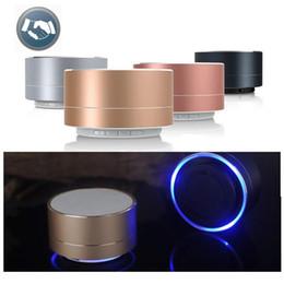 Nouveau LED MINI Bluetooth Haut-Parleur A10 TF USB FM Sans Fil Portable Musique Boîte Sonore Subwoofer Haut-parleurs Pour Téléphone PC ? partir de fabricateur
