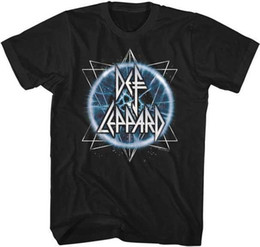 Canada Electric Eye Def Leppard Anglais Rock Band Heavy Hard Rock T-shirt Adulte Offre