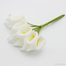 Shop small artificial flowers craft uk small artificial flowers small artificial flowers craft uk wholesale 2016 new hot selling crafts mini calla wedding decorations mightylinksfo